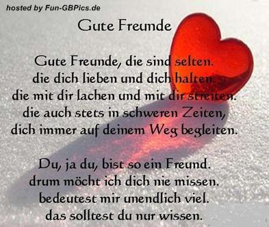 Freunde Sprüche GB Bild - Facebook Bilder-GB Bilder