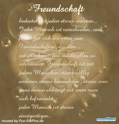 Freundschafts Sprüche GB Facebook   Facebook Bilder GB Bilder