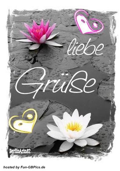 Einen lieben Gruß Pinnwand Bild - Facebook Bilder-GB