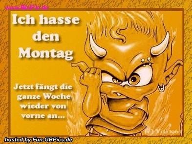 Scheiss Montag Sprüche Bild - Facebook Bilder-GB Bilder ...