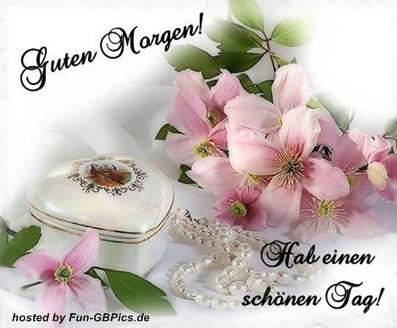 Blumengrüße Guten Morgen
