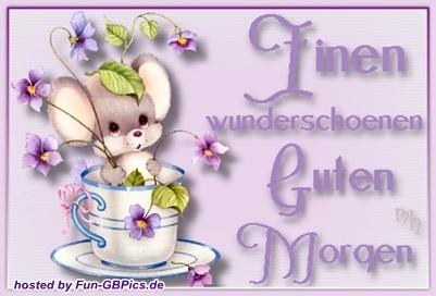 Schöne Guten Morgen Grüße