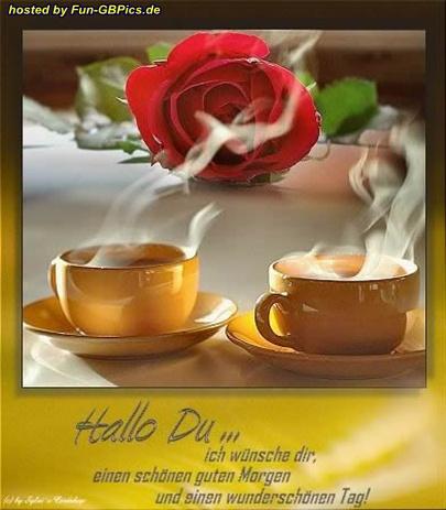 Schönen Guten Morgen Gruss Bild - Facebook Bilder-GB