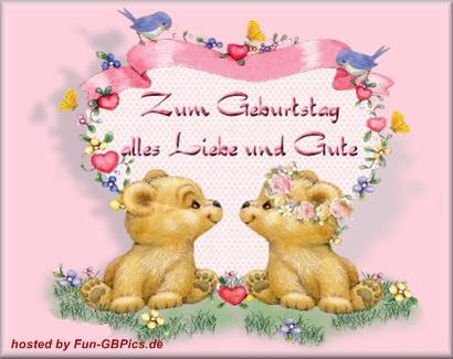 Geburtstags GB Bilder Glückwünsche - Facebook Bilder-GB ...