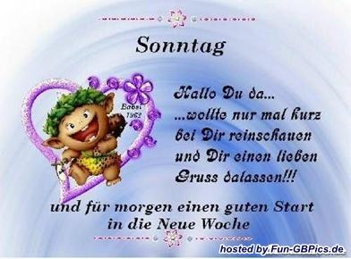 Sonntags Grüße Whatsapp Bilder