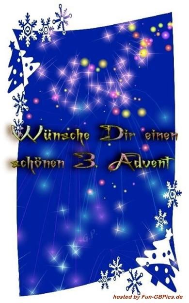 3. Advent Whatsapp Bilder