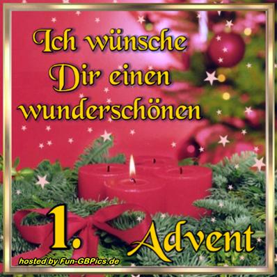 1. Advent Whatsapp Bilder
