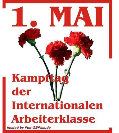 Erster Mai Feiertag