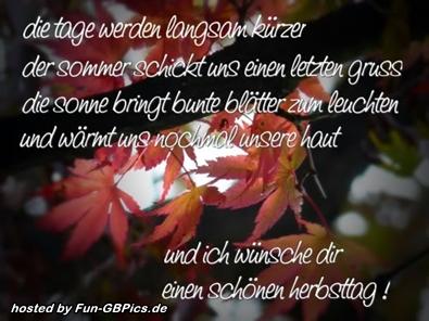 Herbst Sprueche Bilder Grüße Facebook Bilder Gb Bilder Whatsapp