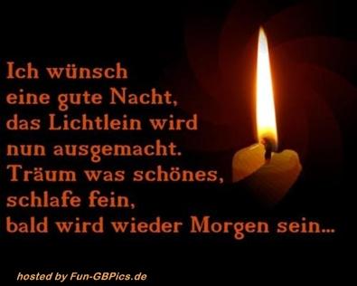 Gute Nacht Spruch Bild - Facebook Bilder-GB Bilder-Whatsapp Bilder ...