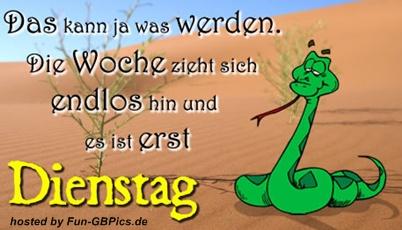 Whatsapp Sprüche Dienstag