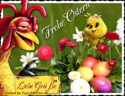 Frohe Ostern Grußkarten Bild - Facebook Bilder - Whatsapp ...