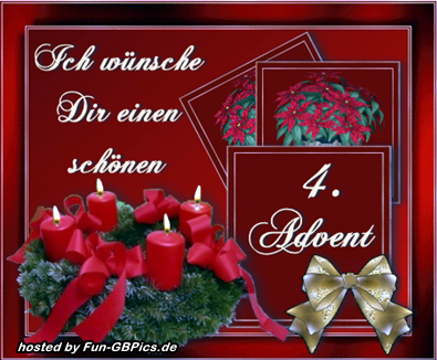 Vierter Advent Whatsapp Bilder Grüße