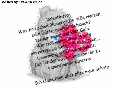 Valentinstag Sprüche GB Bilder Grüsse