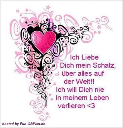 Ich liebe Dich Sprüche Bilder Gruß - Facebook Bilder-GB Bilder ...
